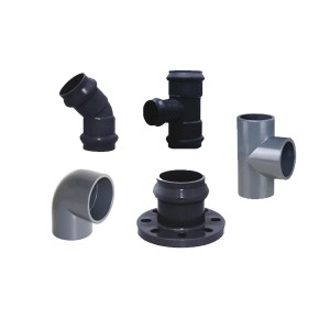 PVC Gasket Joint&Solvent Cement Fittings